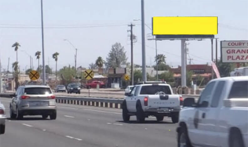 GRAND Ave (US 60) S/O GREENWAY RD. WS,NF
