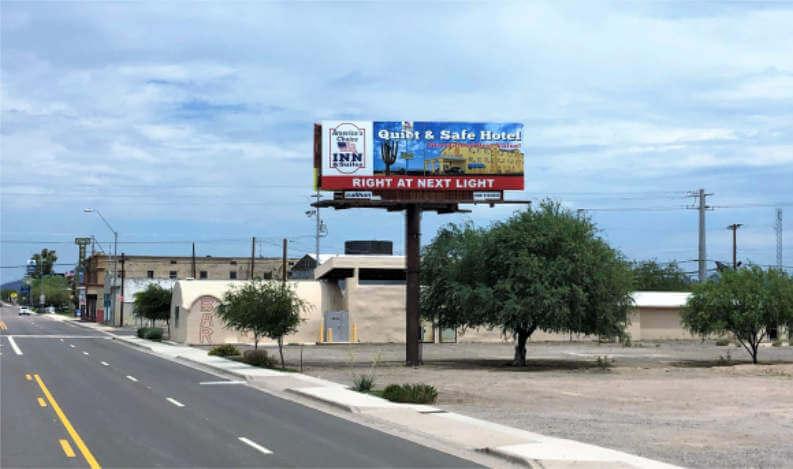 Gila Bend, AZ on Pima St. (SR 85)